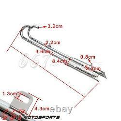 Fishtail Exhaust Silencer Muffler Headers Head Pipes 32HP For BMW R71 R12 M72