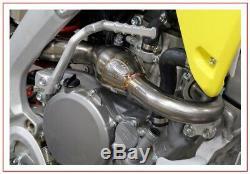 Fmf 043286 Megabomb Header S/s Exhaust Head Pipe Suzuki Rmz250 2010-2012