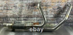 Harley Davidson M8 Exhaust Head Pipe Stage 4 131 #65600177 Touring New X46