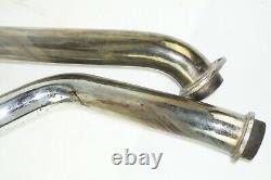 Harley Davidson Shovelhead 2-2 Slash Cut Exhaust muffler 1966-1984 shovel head