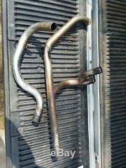 Harley Davidson Shovelhead Front Exhaust Head Pipe Duals