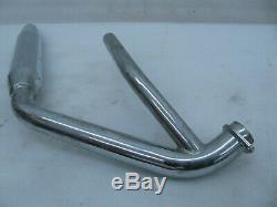 Harley Davidson Shovelhead exhaust head pipe muffler Front 65401-80 FXB FXS FXWG