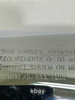 Harley-Davidson Sportster 04-07 XL883 XL1200 Exhaust Head Pipes Muffler