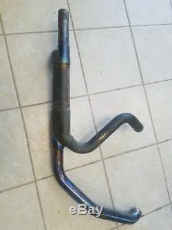 Harley Davidson Touring Exhaust Head Pipe With Cat Removed