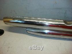 Harley Sportster Iron Head 1970-1976 Oem Exhaust Head Er Pipe Muffler # 65431-70