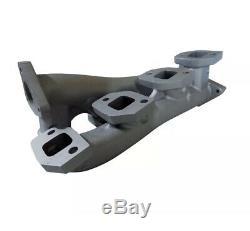 High Flow Exhaust Manifolds & Up Pipes 6.6l Duramax 01-16 LB7 LLY LBZ LMM LML