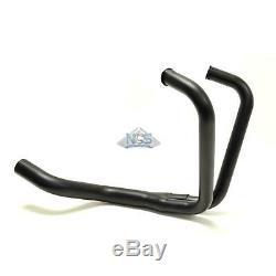 Honda 400/450 CM Nighthawk 78-85 Black 2.0 2-Into-1 Exhaust Header Head Pipes
