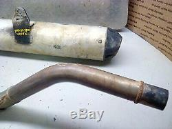 Honda 400ex exhaust muffler header head pipe big gun trx400ex FREE SHIPPING