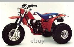 Honda Atc200x, Atc 200x Dg Full Exhaust System, Head Pipe, Muffler, 83-85, 04-2108