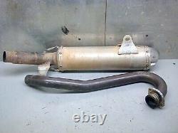 Honda trx450r pro circuit full exhaust muffler header head pipe 04/05 trx 450r