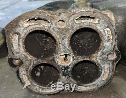 Kawasaki STX-12F STX 12F exhaust manifold muffler head pipe body header 04
