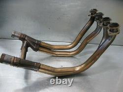 Kawasaki Z1000 Zr1000 03 Exhaust Headers Head Pipes Original 3k Miles