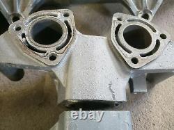 Kawasaki ZXI 750 Exhaust Manifold Head Pipe & Chamber 95 System OEM Body Mount