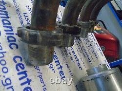 Kawasaki gpz750 gpz 750 zx750a zx750 exhaust head pipe header silencer