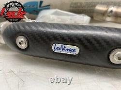 Leo Vince X3 HONDA CRF 150 R 07 SUPERMOTO EXHAUST HEADER HEAD PIPE CARBON FIBER