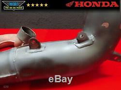Low Hour 1984 Honda Cr500 Oem Exhaust Head Pipe Header Expansion Chamber
