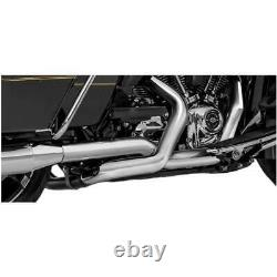 MF Pro Dual Exhaust Header Head Pipe Chrome for Harley Road Glide 2017-2019 18