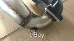 OEM Kawasaki Jet Ski 650 SX X2 Exhaust Head Pipe Muffler Clamps chamber Couplers