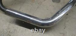 Oem Harley Dyna Fxd Exhaust Heather Head Pipe With Cross Over And Heat Shields
