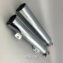 Original Harley-Davidson Dyna 64900183 64900185 Endtöpfe E-Nummer / TÜV-konform