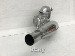PJS EX2500 Reed Full Exhaust Head Pipe Manifold Chamber Kawasaki JS 550 SX 550SX