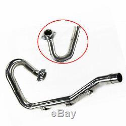 Stainless Steel Exhaust Header Pipe Head For 2003-2010 Suzuki LTZ400 Z400 Quad