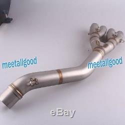 Stainless Steel Muffler Exhausts Head Pipe fors Honda CBR 650 F 2013 2014 2015