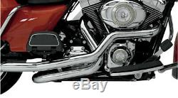 Supertrapp Chrome True Duals Header Head Pipes Exhaust 2009-2016 Harley Touring