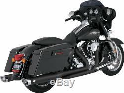 Vance & Hines 46752 Dresser Duals Exhaust Header Head Pipes (Black)