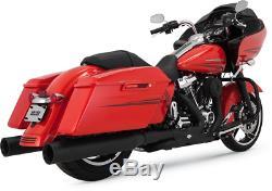 Vance & Hines Power Duals Head Pipes Exhaust Muffler P-Dual Matte Black 46871