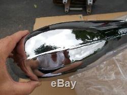 YAMAHA TRI-Z YTZ 250 freshly CHROMEd EXHAUST HEAD PIPE 85-86, 3 wheeler atc
