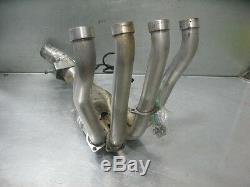 Yamaha FZ1 06-10 2006-2010 Exhaust Headers Head Pipes Ceramic Coated O2 Sensor