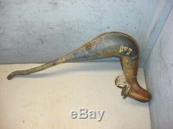 Yamaha Yz 80 K 1983 Only Exhaust Head Pipe Expansion Chamber Oem # 22w-14610-00