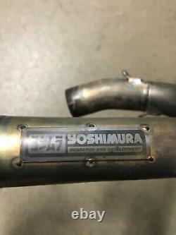 Yoshimura Header Head Pipe Exhaust Honda Crf250r Crf 250r Crf450r 450r Titanium